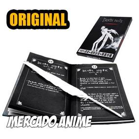 Caderno Death Note Original + Caneta Pena + Colar L Grátis