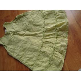 Vestidito Verde Claro, Zara, Nena, Pañalero