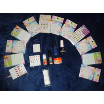 Kit 100 Articulos Para Uñas Acrilico(usado) Envio Gratis Dhl
