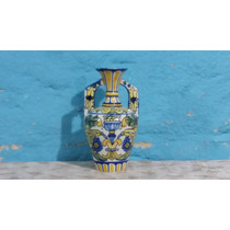 Hermosa Anfora Porcelana Decorada 30x15cm Tal Cual Foto