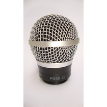 Cápsula Com Grelha Para Microfone Shure Pg58 - Id8888