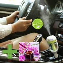 Aromaterapia Difusor Humidificador Coche · Esencia Gratis