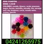 Vendo Pompones Artificiales. Diversos Colores