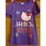Remeras Hello Kitty Con Brillitos.hermosas!en Liquidación