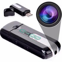 Micro Camera Espiã Pendrive Espião Sensor De Movimento