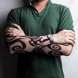 1 Peça Manga Tatuagem Falsa Fake Tattoo Frete Grátis R:929