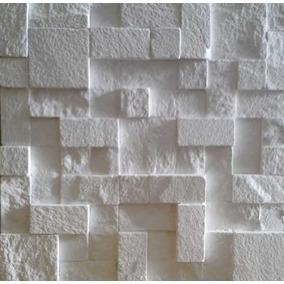 Painel Placa 3d Decorativa Mosaico Cimentícia Área Externa