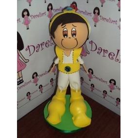 Boneco Aladin Em Eva 3d 23 Cm - Princesas Disney