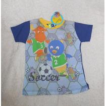 Nickelodeon Playera Futbol Backyardigans Pablo Tyrone 3 Años