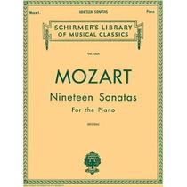 Libro Musica Mozart 19 Libro 1 Sonatas Para Piano