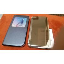 Samsung Galaxy S6 S-view Flip Cover Lote 3 Fundas