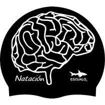 Gorras Adulto Para Natación Modelo Cerebro