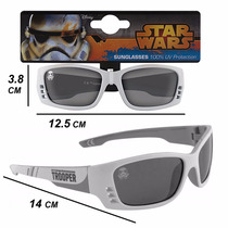Anteojos Lentes Sol Ski Niños/as 3 + Star Wars Stormtrooper