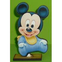 6 Centros De Mesa Mickey Y Minnie Bebe