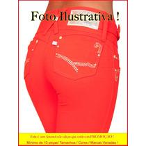 Hot Pants Calças Strech Lycra Atacado 10 Peças Sawary Hot