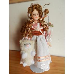 Muñeca De Porcelana Storybook Collection Petite