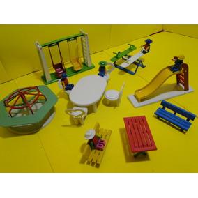 05 Bonecos 04 Brinquedos 02 Mesas E Bancos Parque Diversões