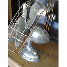 Ventilador Muito Antigo Usa, Todo De Bloco (only Wood)