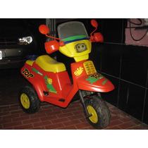 Triciclo A Bateria Como Nueva!! Falta Bateria, Muy Buena!!