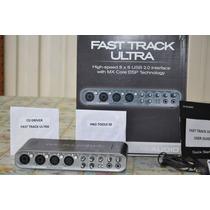 Placa Interface M Audio Fast Track Ultra 8x8 Usb
