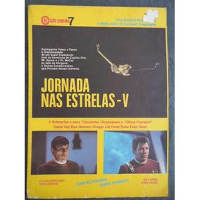 Jornada Nas Estrelas V (star Trek V) Revista Poster
