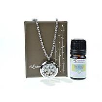 La Aromaterapia Flor De La Vida Del Acero Inoxidable Esencia