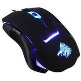 Mouse Usb Optico Gamer Eagle Warrior G13 Iluminación Led