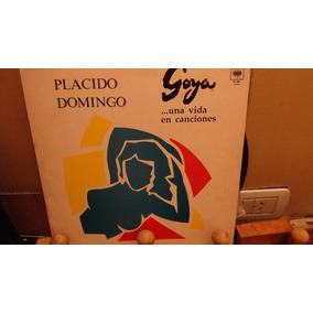 Placido Domingo Goya Una Vida En Cancions Vinilo Lp Disco