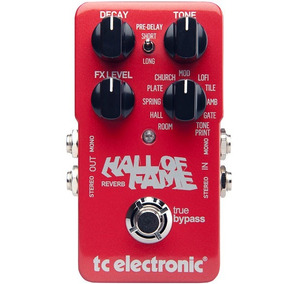 Pedal Hall Of Fame Reverb Tc Electronic