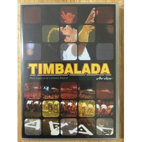Dvd Timbalada Ao Vivo (2008) - 1ª Prensagem Raridade!!!