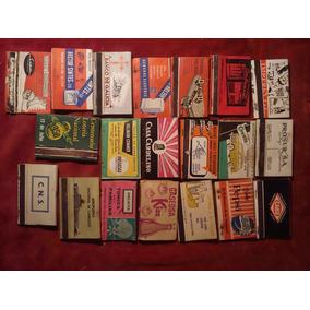Lote De 20 Cajas De Fosforos Antiguas Coleccionables