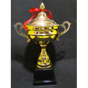 Taça Show Trofeu Metal 40cm Triatlon Maratona São Silvestre