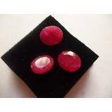 Piedras Preciosas, Rubi,natural,oval, 3 Quilates