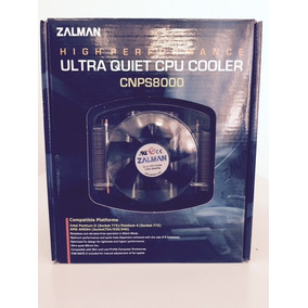 Cpu Cooler Zalman Cnps8000 High Performance
