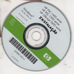 Cd De Instalação Para Impressora Hp Psc 1410-1400-1500 -5600