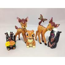 Miniaturas Bonecos Filme Bambi Disney Infantil Coleção