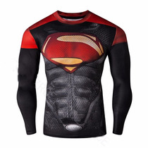 Buzo De Compresion De Superman, Buzo De Spiderman