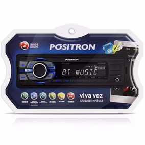 Auto Radio Positron Sp2310 Bluetooth Mp3 Player Usb Auxiliar