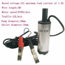Bomba Dagua Solar 12v 60w Agua Diesel Combust Frete+barato