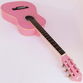 Instrumento Violão Thomaz Cor Pink Mulher Coleção Seminovo
