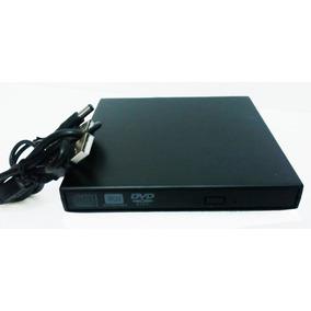 Drive Externo Slim Usb Gravador/leitor Cd E Dvd Usb 2.0