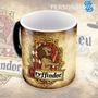 Caneca Mágica Harry Potter Casas Hogwarts Rustica Gryffindor