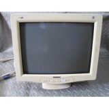 Monitor Crt Color Philips 17 Pulgadas 107t5 Usado
