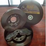 Kit Juego Discos + Pastillas De Freno Fremax Renault Kangoo
