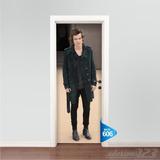 Adesivo 123 Porta One Direction 1d Harry Styles Varios