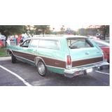 Mica Retroceso Dodge Coronet Ranchera Años 1974 Al 1975