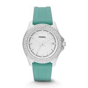 86a30705689 Relógio Fossil Verde Com Strass Modelo Es2951 - Relógios De Pulso no ...