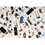 Componentes,transi,diodo,pac/21.668pç,amd,apple,moto,intel
