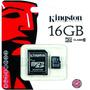 Memoria Sd Kingston 16 Clase 10 Garantia Lomas De Zamora
