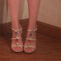 Sandalias O Zapatillas De Noche, Combinable, Elegantes